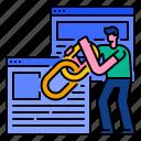 backlink, connection, link, optimization, seo, website