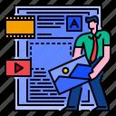 communication, content, marketing, media, online, seo, social