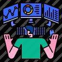 analytics, development, digital, display, monitor, monitoring, screen