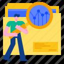 analysis, business, chart, data, marketing, strategy icon