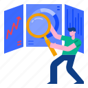 analytics, graph, financial, statistics, analysis, development, chart icon