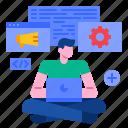 application, coding, development, marketing, programming, software, web icon