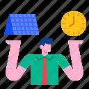 business, businessman, leader, man, management, manager, organization icon