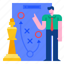 target, strategy, competition, planning, plan, tactic, team icon