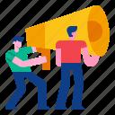 advertising, brainstorming, business, corporate, marketing, team, teamwork icon