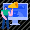 worldwide, global, communication, network, international, marketing, advertising icon