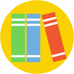 archives, books, documents, file folders, files rack icon