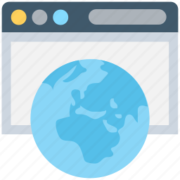 globe, internet, internet exploring, web browsing, world wide icon