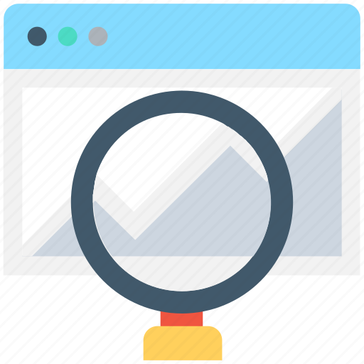 graph, infographics, search chart, search graph, website icon