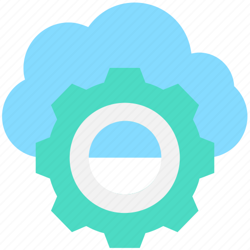 Cloud maintenance, cloud repair service, cloud settings, cog, network settings icon - Download on Iconfinder