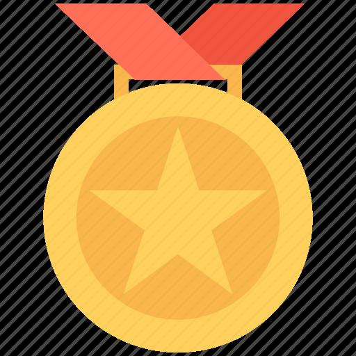 award, award medal, eps, medal, star medal icon