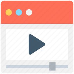 media player, movie player, multimedia, video player, video streaming icon