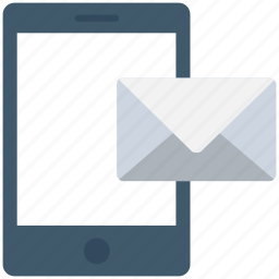 cell phone, mobile email, mobile message, mobile phone, smartphone icon