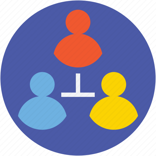 clients, communication, discussion, social media, users icon