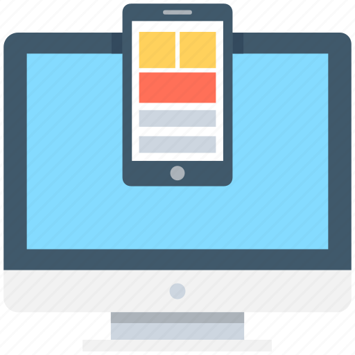 devices, mobile, monitor, responsive devices, tablet icon