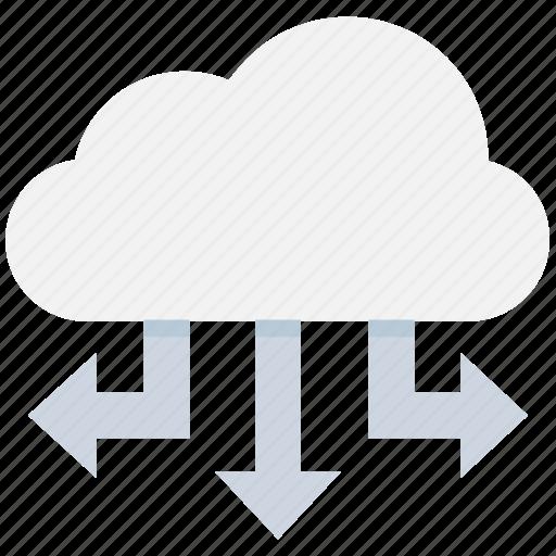 cloud computing, cloud network, cloud sharing, cloud storage, icloud icon