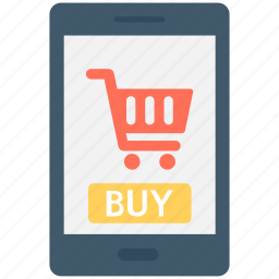 buy, buy online, cart, m commerce, online shopping icon