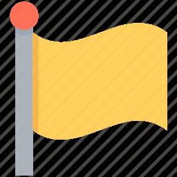 destination flag, ensign, flag, flagpole, location flag icon