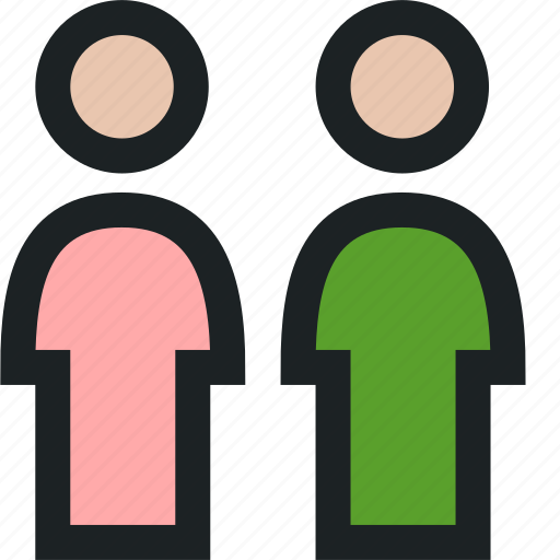 audience, digital, industry, marketing, people, validation icon