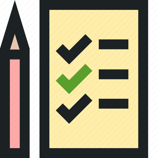 assessment, digital, marketing, paper, skills icon