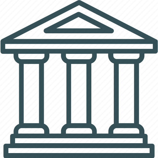 bank, building, finance, money, payment icon