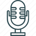audio, mic, microphone, record, voice icon