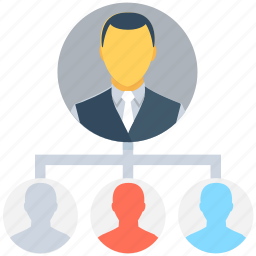 group, management, manager, organization structure, team icon