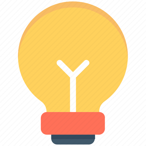 bulb, electric light, light, light bulb, luminaire icon
