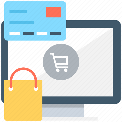e commerce, online shopping, shopping, shopping bag, shopping trolley icon