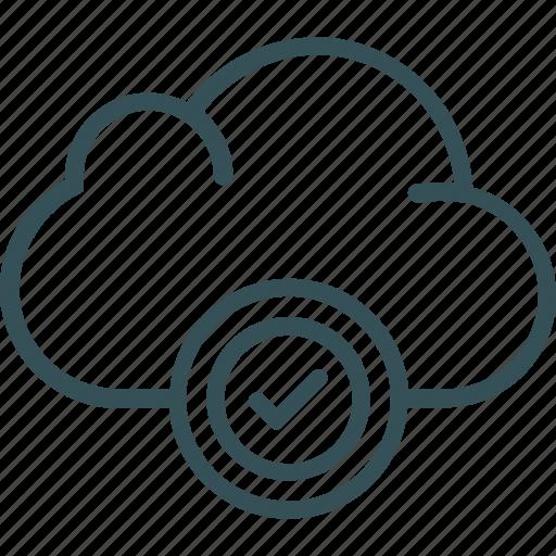 cloud, cloud server, data, storage, upload icon