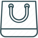 bag, ecommerce, shopper, shopping, shopping bag icon