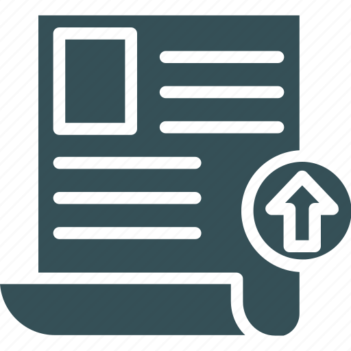 Data, page, transfer, upload, uploading icon - Download on Iconfinder