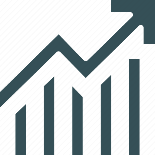Analytics, bar, chart, graph, increase icon - Download on Iconfinder