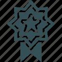 award, medal, premium, rank, star
