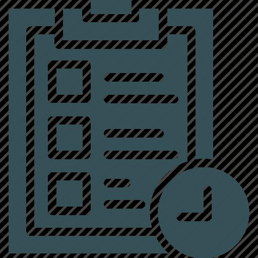 board, check, clipboard, list, note icon