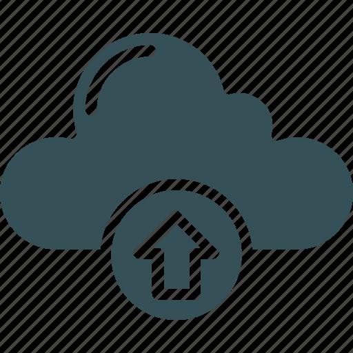 Backup, cloud, data, storage, upload icon - Download on Iconfinder