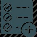 add, checklist, clipboard, management, task