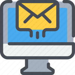 business, computer, email, letter, mail, marketing, message icon