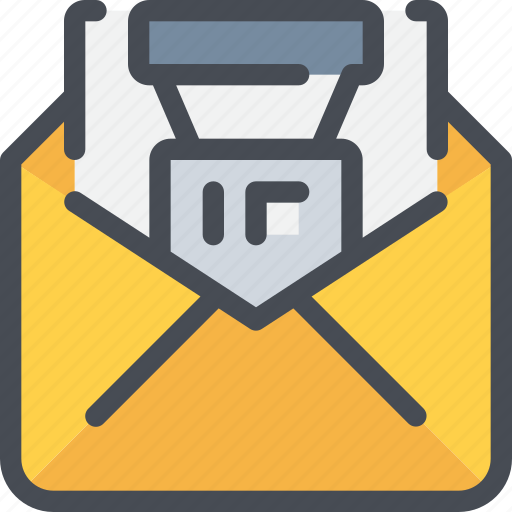 advertising, business, email, letter, mail, marketing, seo icon