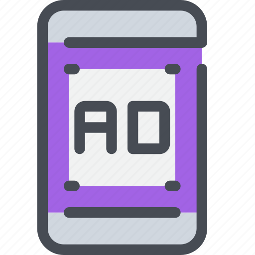 advertising, business, marketing, mobile, smartphone icon