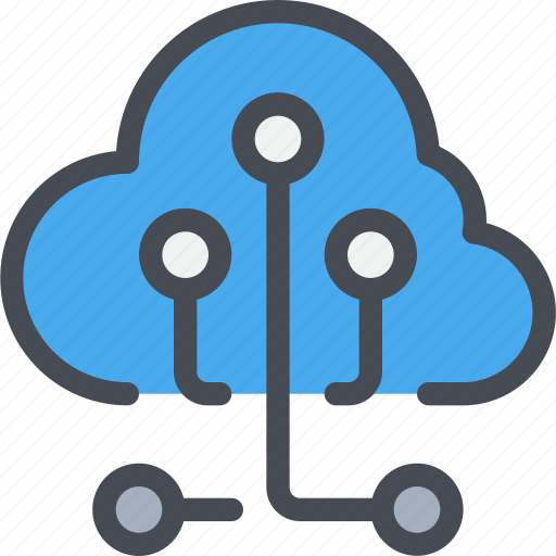 business, cloud, connect, network, online icon