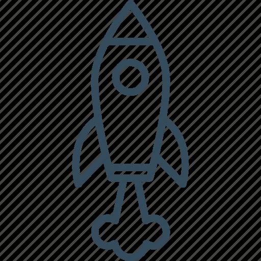 Launch, rocket, spaceship, start, start up, startup, up icon - Download on Iconfinder