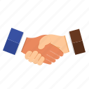 business, deal, hand, handshakes, partner icon