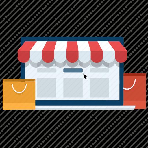 online, online shop, online store, shop, shopping icon