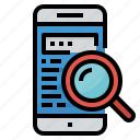 engine, mobile, search, searching, website icon