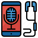 brand, channel, podcast, talk icon