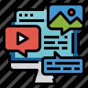 css, design, development, programing, website icon