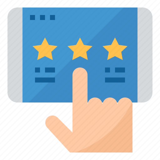 rating, review, star, website icon