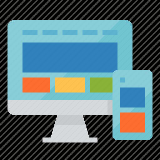 css, design, responsive, website icon