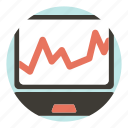business, chart, digital, marketing icon